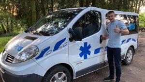 Перевезення лежачих хворих у місті Львів